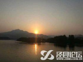 青弋江夕陽